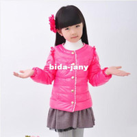 Wholesale Hot sale children kids girls winter feather natural fur special down jacket women fashionable jackets