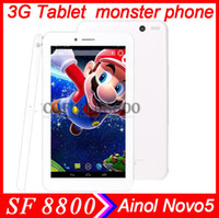 Wholesale 3G tablet monster phone Ainol Novo5 NUMY3G AX2 MTK8312 GHz inch G Tablet PC Android Dual Core MB GB GPS Bluetooth