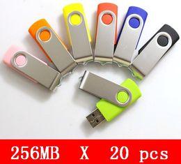 Promotion oem flash usb 20pcs X 256mb en gros USB 2.0 HOT ventes lecteur flash de haute qualité! OEM service Brand New Genuine Capacital expédition gratuite