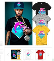 Cotton pink dolphin - high quality pink dolphin hip hop t shirts cotton colors