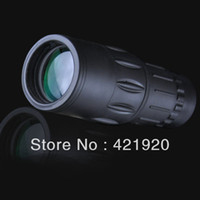 Cheap 2014 Brand New 16X52 Dual Focus Telescope Monocular Telescope Sports Hunting Camping Spotting Scope