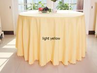 Wholesale Hotel restaurant antependium multicolor cloth cloth round table cloth