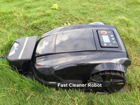 Wholesale 2014 Newest th Generation Smart Robot Lawn Mower With Pressure Sensor Cutting area setting Range Function