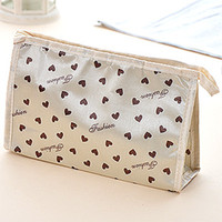 Wholesale Lovely cute large capacity women lady cosmetic bags pieces in one