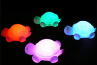 Home cool led gadgets - Led Turtle Tortoise Light Party Kid Bar Cool gadget Light Lamp Kids Party Favours Colors