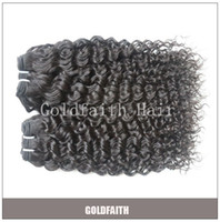 Wholesale Natural Color Unprocessed Bundles Deep Curl Indian Human Hair Machine Weft Human Weaving Hair Extensions