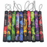 Wholesale New ShiSha Time Disposable Cigarette E HOOKAH Puffs No Nicotine Various Fruit Flavors Colorful retail package SHISHA TIME Pens EGO Cigs