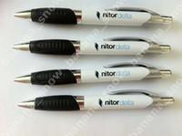 Wholesale white ballpoint pen correction pen roller pen Custom logo