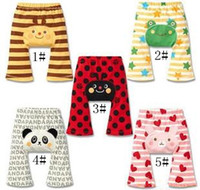 Wholesale Children Clothes Children s Casual Pants Baby Pants children Cute Baby Infant Girl Boy Summer PP Pants baby animal trousers