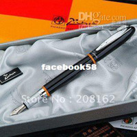 Wholesale Black Silver Montmartre Financial Pen Fountain Pens Picasso Series
