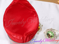 Wholesale Pieces RED Satin Table Dinner Napkin quot Square Diner Handkerchief Wedding Party Decor