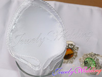 Wholesale White quot Square Satin Dinner Napkins or Handkerchiefs Wedding Party Favor Table Serviettes