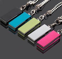 DHL 256GB 128GB 64GB USB 2.0 Swivel Flash Drive Pen Memory Stick Chrome Metal Swivel OEM LOGO DHL 256GB 128GB 64GB USB 2.0 Swivel Flash