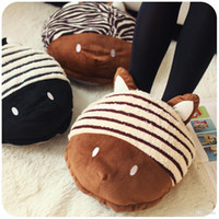 Wholesale Hearts plush usb thermal warm feet treasure hand warmer foot warmer winter electric heating shoes