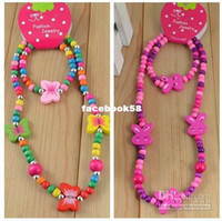 Bracelet & Necklace Bracelet & Necklace Girls Wholesale - Lot 5 Sets