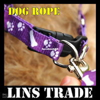Wholesale New dog chain pet traction rope nylon leash harness chest collar drawing nec