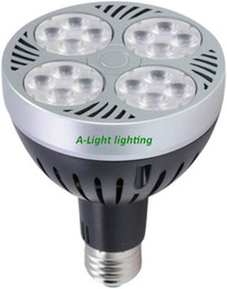 Wholesale Led par30 e27 spotlight W LM OSRAM chip E27 bulb cool active cooling alternative w halogen lamp Outlet