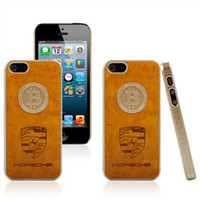 Gold Coin Leather Pattern Clip On Hard Case Skin Cover for i...