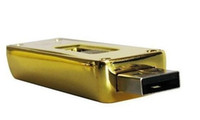 Wholesale 512GB Gold bar USB Flash Memory Drive Drives Sticks Disks Pendrives1pcs k