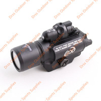 Wholesale Drss CNC Making SF X400 LED WeaponLight With Red Laser Black DS7016A