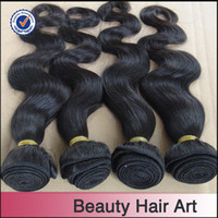 Peruvian Hair Body Wave Natural Black 1b 5A Top Quality Peruvian Hair Weave 4pcs lot Body Wave Natural Color Can Be Dyed And Bleached