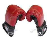 Wholesale 2pcs Professional Sandbag Gloves Half Thumb Sanda Fight Boxing Gloves