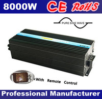 Wholesale 48V DC to AC V W Pure Sine Wave Solar Power Inverter with Remote Controller CE RoHS Approved