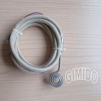 Wholesale ID mm OD mm Height mm V180W Flat Coil Heater Flat Hot Runner Heater Spring Heater with Fiberglass Sleeve