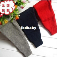 Casual Pants Unisex Spring / Autumn Children's clothing autumn and winter child wool pants male female child thermal trousers child pants cashmere yarn legging