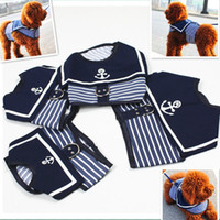 Wholesale Navy Pet Harness Dog Vest Pet Clothes Mix Size XS S M L Keep Your Pet Safety