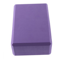 Wholesale 5 Yoga Block Brick Foaming Foam Home Exercise Practice Fitness Gym Sport Tool New Arrival
