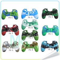 Wholesale High quality Silicone Rubber Duable Protective Case Skin For Playstation PS4 Controller