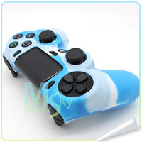 PS4 Protective Case  New Arrival PS4 Silicone Camouflage Protective Skin Skidproof Case Cover for Sony PlayStation 4 PS4 Controller 002094