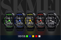 Sport Men's Water Resistant Men's S-SHOCK Diving Sports with LED Analog Digital waterproof Quartz Watch japan movement men sports watches