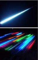 Wholesale Fedex cm set real double sided LED christmas light LED Snow fall tube snowing led raining tube led meteor tube
