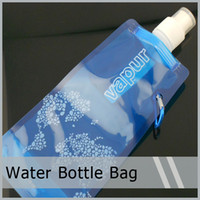 Collapsible 480ml(16oz) Reusable Foldable Water Drink Bottle...