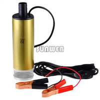 Wholesale New r min M V DC Diesel Fuel Water Oil Car Camping Submersible Transfer Pump