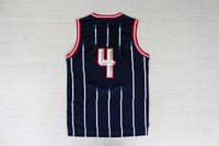 Wholesale Top Quality Revolution Swingman Men s Basketball Jerseys Charles Barkley Blue Throwback Embroidery Logo Mix Order