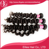 Wholesale Factory Outlet Price More Wave quot quot Brazilian Hair Bundles Hair Extension DHL Virgin Brazilian Wavy Hair BH604