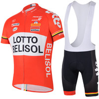 Wholesale 2014 latest style LOTTO Belisol Orange padded cycling shorts top quality bicycle racing jerseys new bicycle clothes