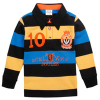 Boy Spring / Autumn Hooded A4746# Nova brand 2014 latest child winter clothing wear 18m-6y baby boys polo style badge stripe cool colorful sweatshirts terry pullover