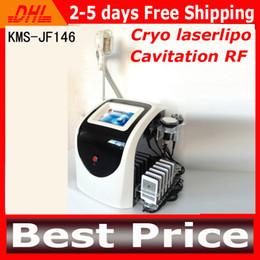 Wholesale 2014 Latest In Cryolipolysis Slimming Equipment With Cryo Lipolaser Cavitation Multipolar RF For Weight Loss Zeltiq Cold Lipolysis