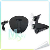 Wholesale High Quality Black Dual USB Charging charger Dock Stand for Playstation PS4 Game Controller