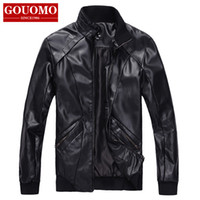 Jackets Men Cotton Free shipping !!! Men's Winter stand-up collar fashion casual warm self-cultivation machine wagon jacket M-4XL