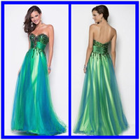 Model Pictures Sweetheart Tulle 2014 New Sexy Sweetheart Sequin Bodice Green Peacock Blue Tulle Pageant Gown Evening Dress Formal Floor length Blush Prom Dresses 0307B