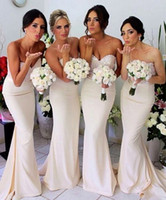 Reference Images best price bridesmaid dresses - Best Price Sexy Cheap Prom Dresses Sweetheart Mermaid Backless Chapel Train Pleat Ruffle Beaded Chiffon Bridesmaid Dresses