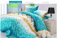 Plain aloe plants - Home Textiles Bedding Supplie Korean aloe cotton Bedding Sets romantic floral pattern king queen size Bed in a bag