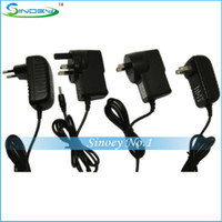 Wholesale 10PCS Power Adapter DC V A Plug Charger USA EU UK AU standard for Android Tablet PC Free by DHL