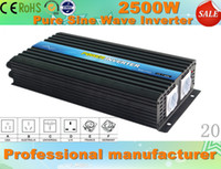 Wholesale 2500w input v output v v inverter pure sine wave Off grid single phase inverter use for home or solar