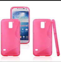 S Shape Candy TPU Gel Rubber Soft Case For Samsung Galaxy S5...